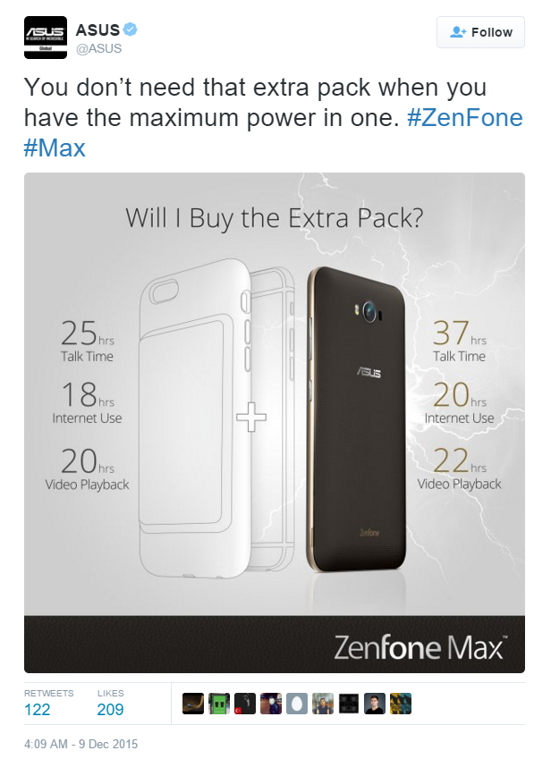 asus iphone joke
