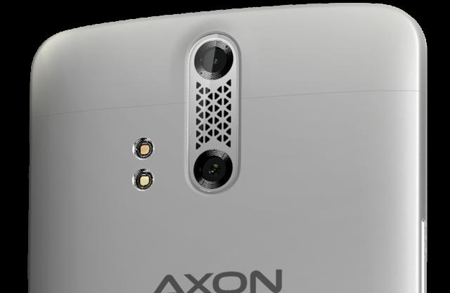 zte axon camera