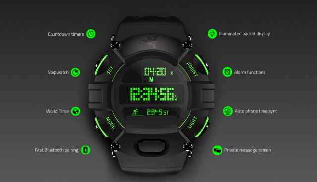 Razer Nabu Watch   Digital Watch with Smart Functions