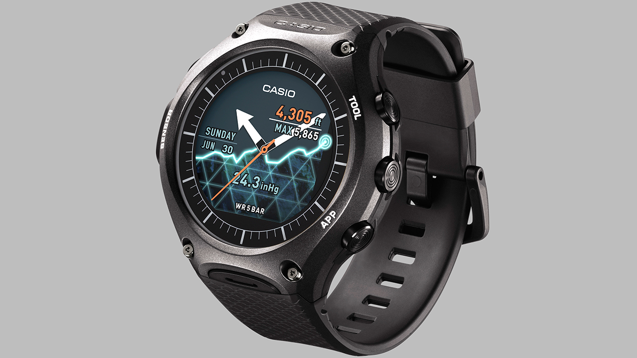 Casio's first Android Wear watch is a rugged beast