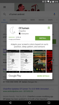 google search app install 3