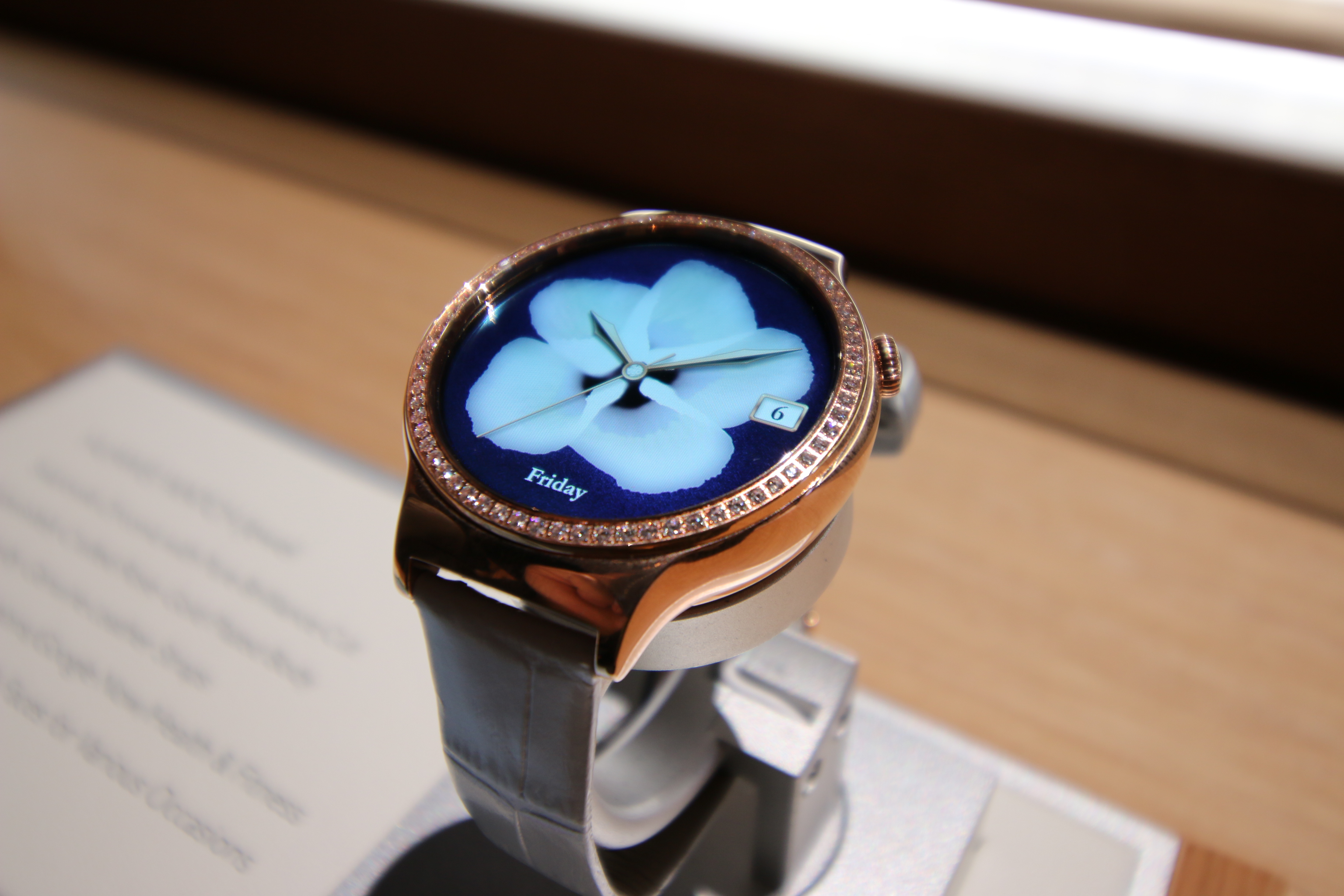 You can now pre-order the blingy Huawei Watch Jewel and ...