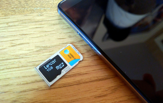 mate 8 sd card