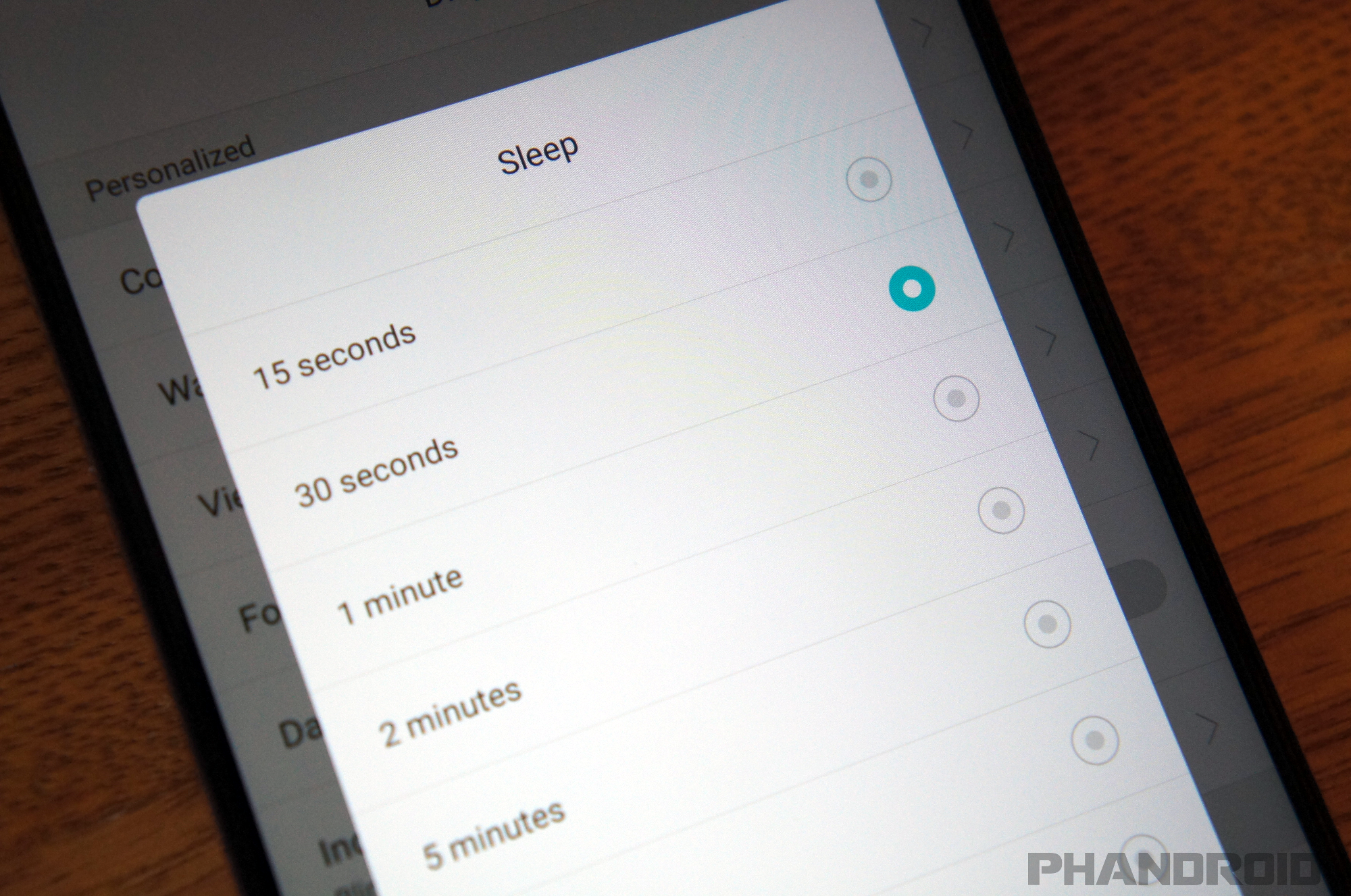 Tips Extending Android Battery Life Sleep Timeout