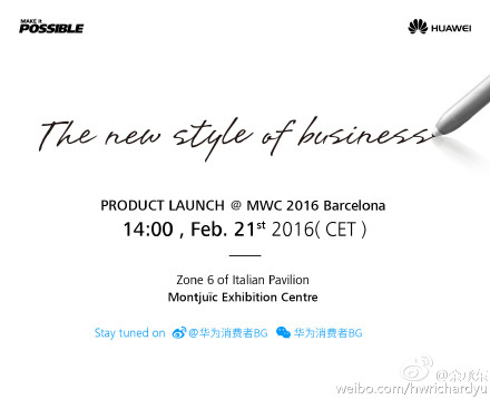Huawei invite stylus