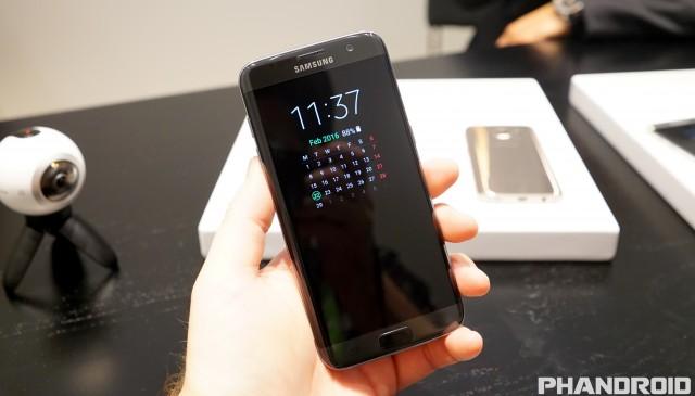 Samsung Galaxy S7 Always On Display DSC01647