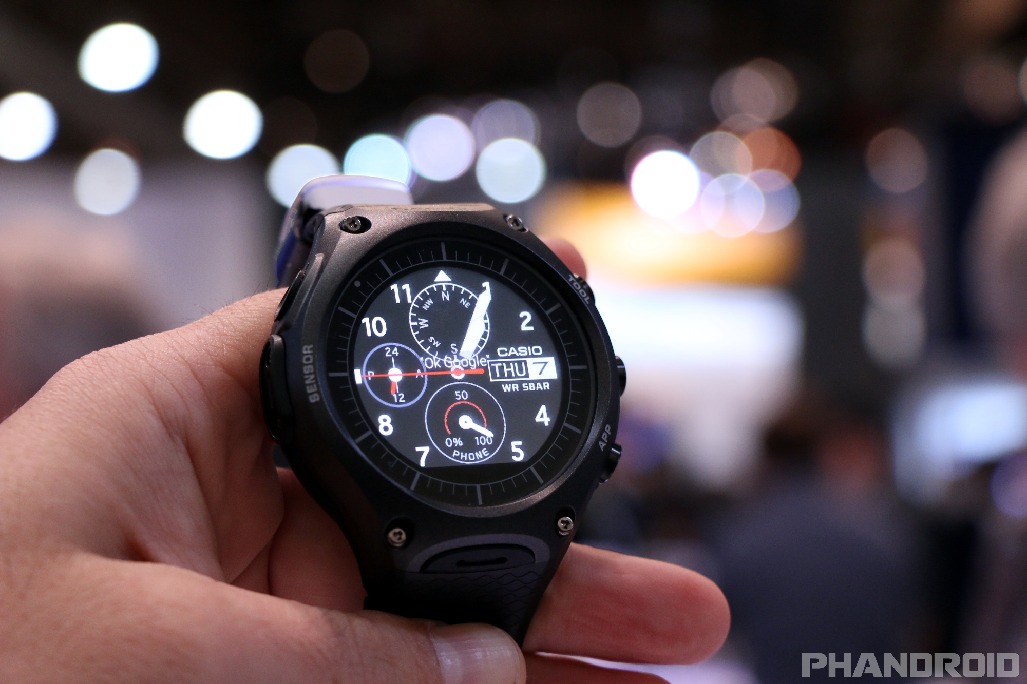 Casio S Rugged Android Wear Watch Goes On Sale Today As