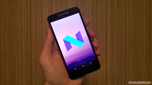 Android N screen