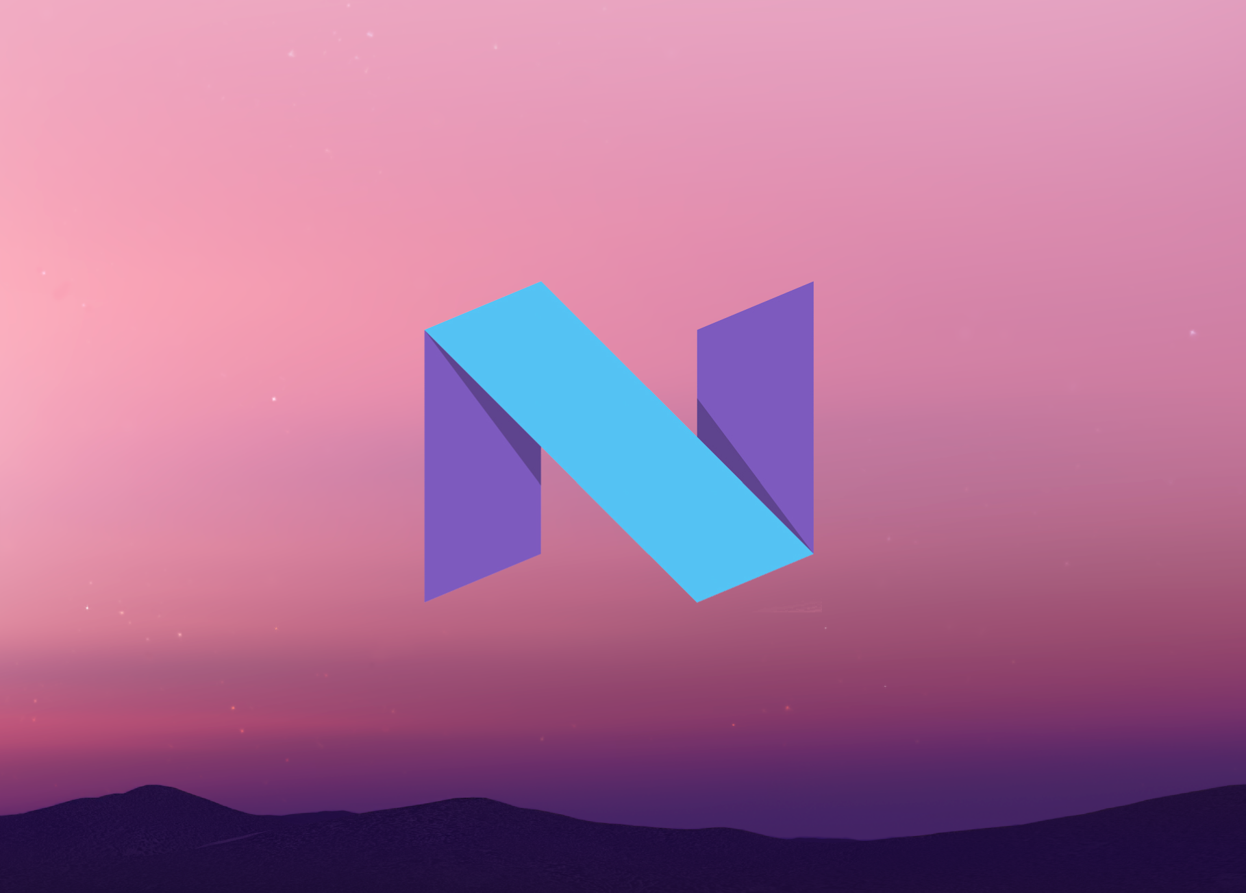 the android n logo and a brief history of android easter eggs
