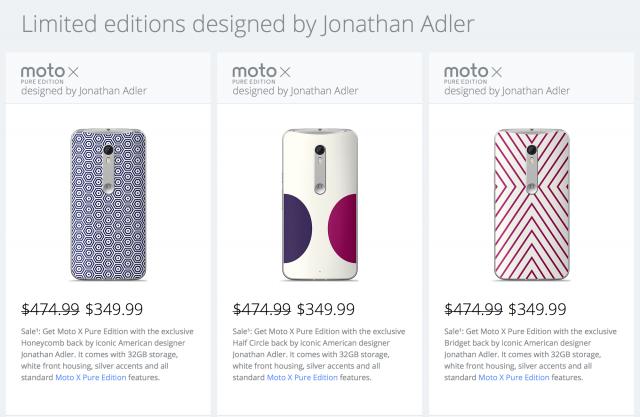 Motorola Moto X Pure Edition Limited Jonathan Adler