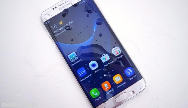 Samsung Galaxy S7 water resistance DSC01926