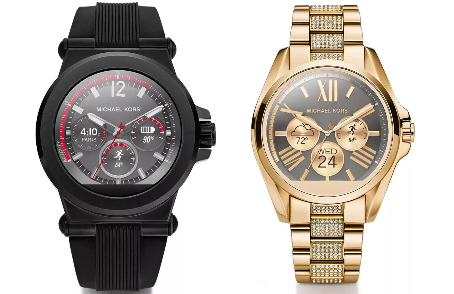 michael kors unveils new android wear line casio 39 s 500 smartwatch gets march 25th release date. Black Bedroom Furniture Sets. Home Design Ideas