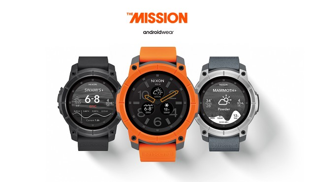 nixon mission android wear 1