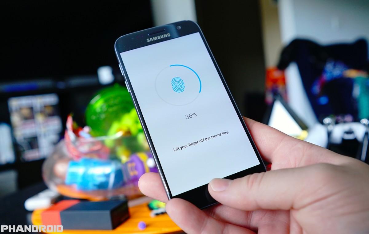 samsung galaxy s7 fingerprint sensor reader DSC02105