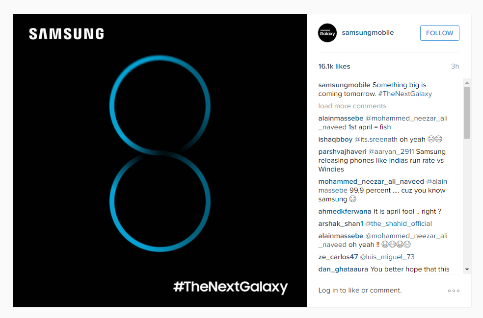 The photo shows a nice blue '8', and that's it. This would seem ...