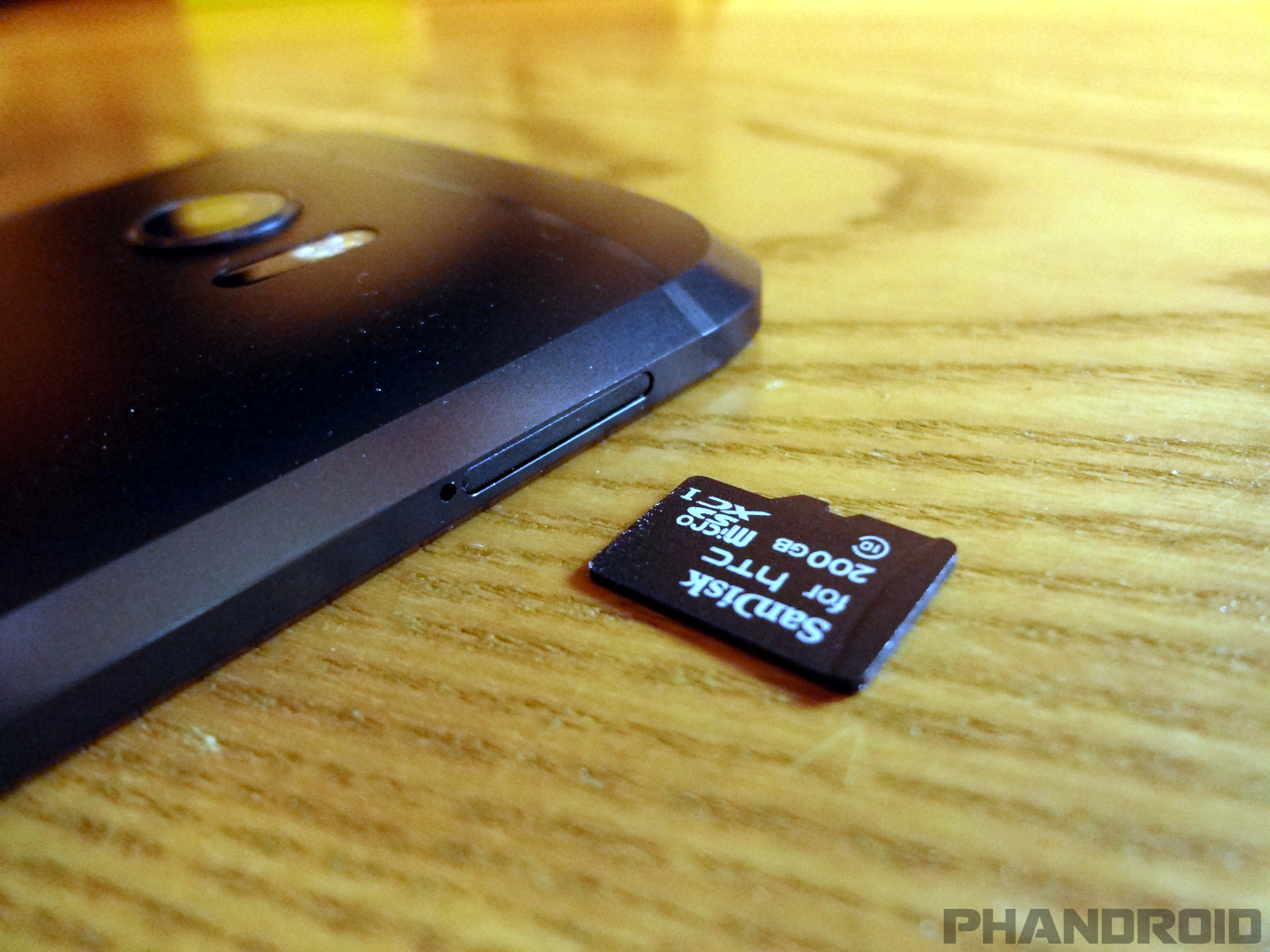 how to make photos and videos go to sd card
