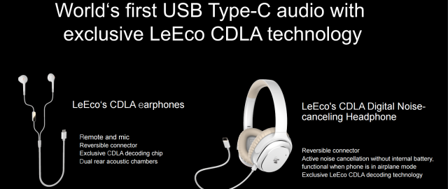 leeco cdla audio usb type-c