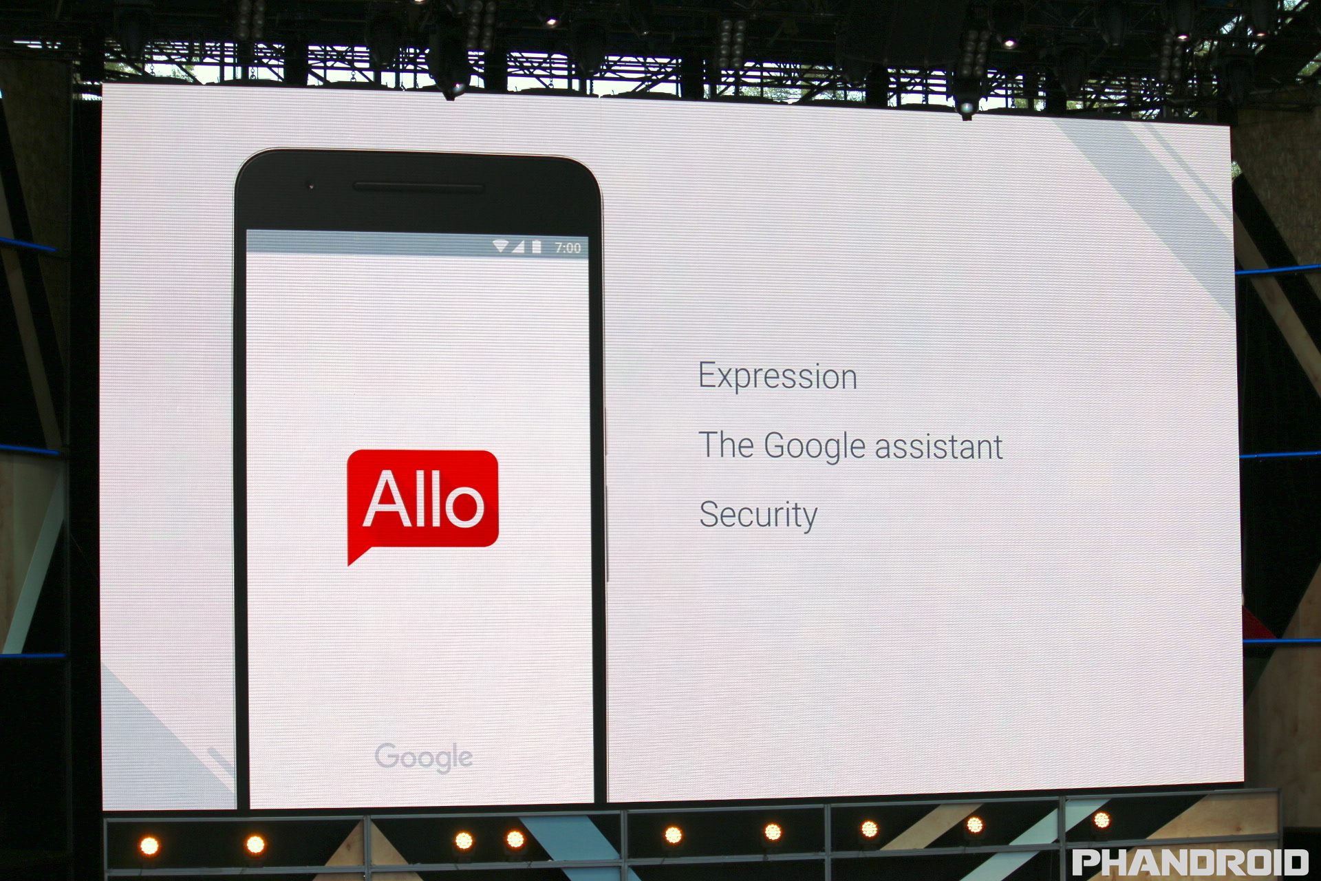 Allo app by Google
