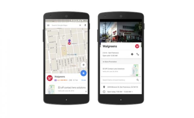 Walgreens Google Maps
