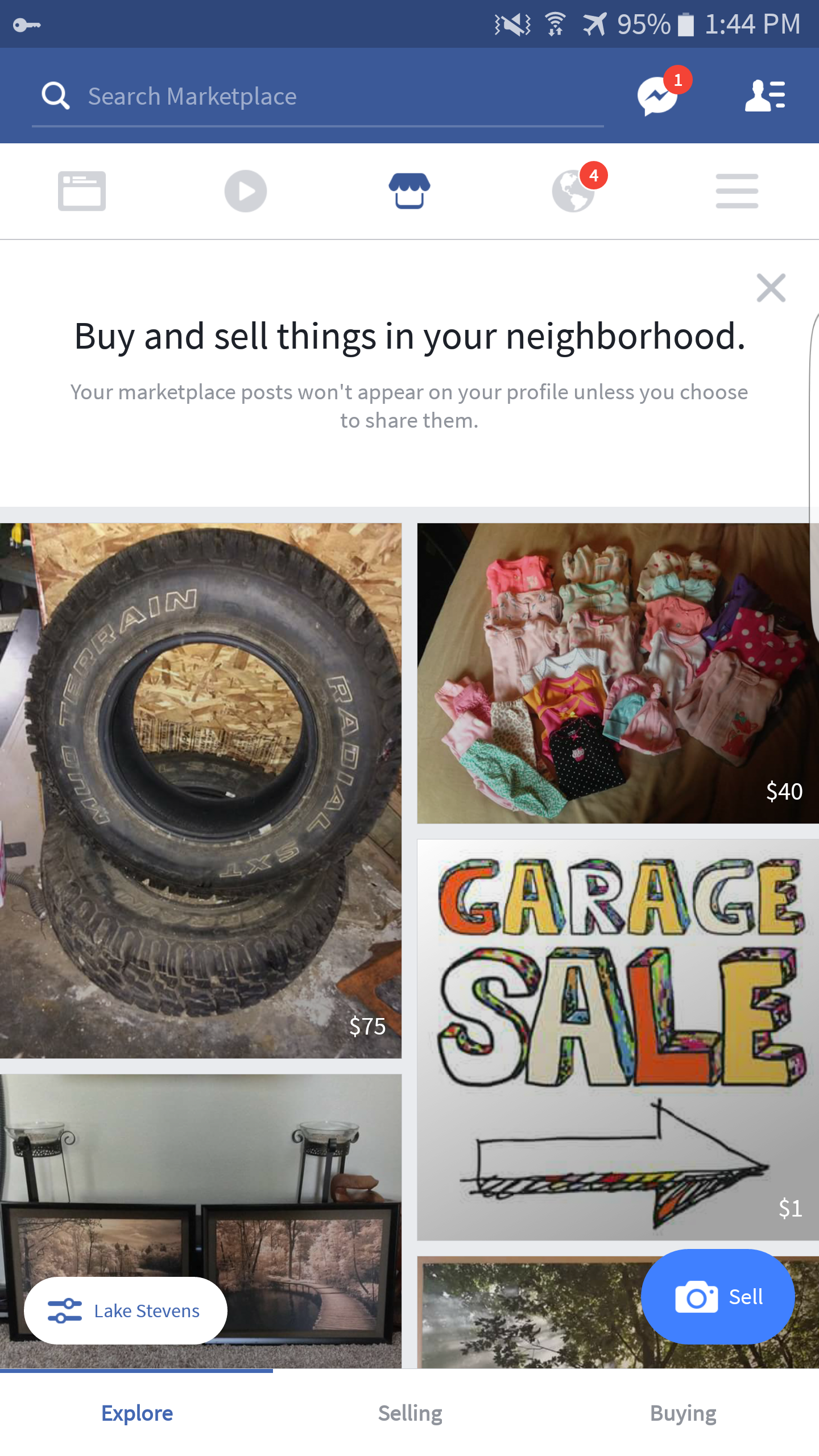 Facebook starts testing Marketplace tab in their Android app Marketplace Facebook