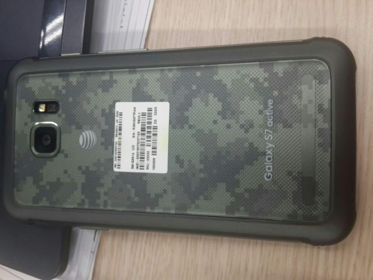 Samsung Galaxy S7 Active tough phone is real, shown off in pictures