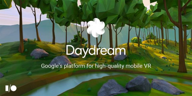 google daydream android vr