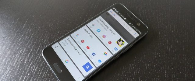 how to disable google search screen on android