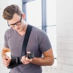 This portable smart guitar lets you rock out on your Android phone