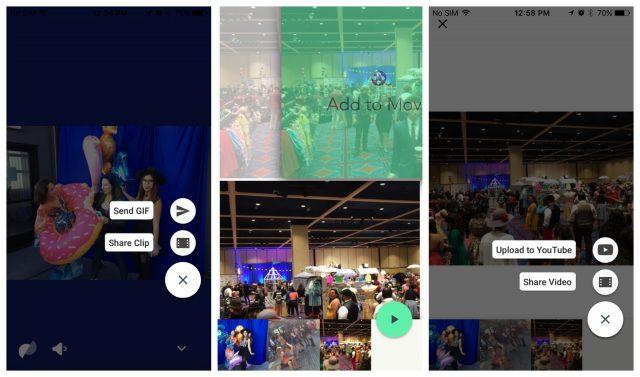 Google Motion Stills app iOS