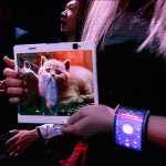 Lenovo just casually showed off a foldable tablet and phone bracelet
