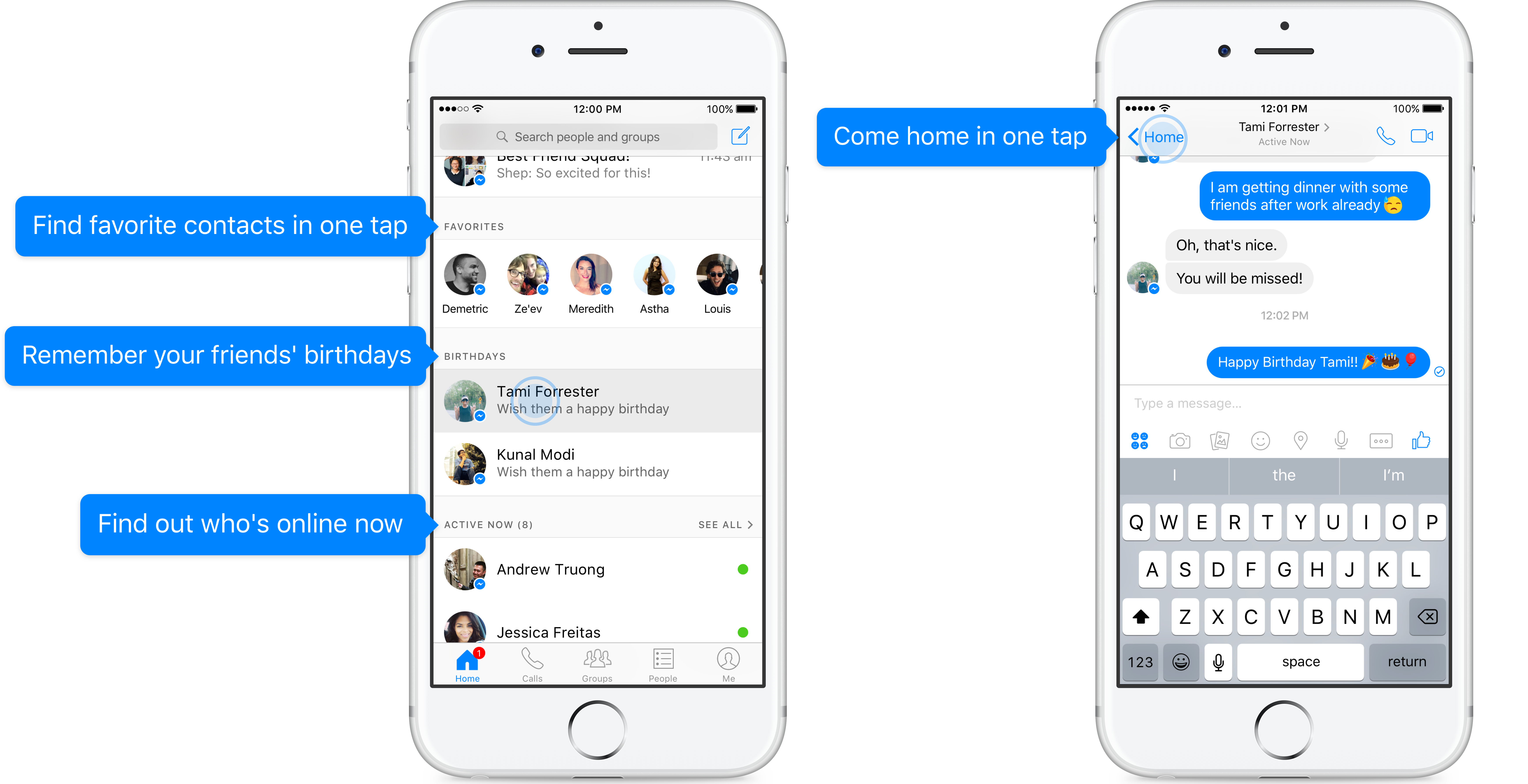 Facebook Messenger makes it easier find the people you ...
