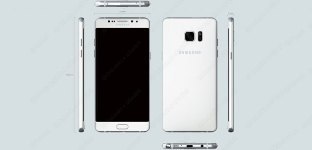 galaxy note 6 renders 3