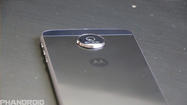 Moto Z Force Camera Bump