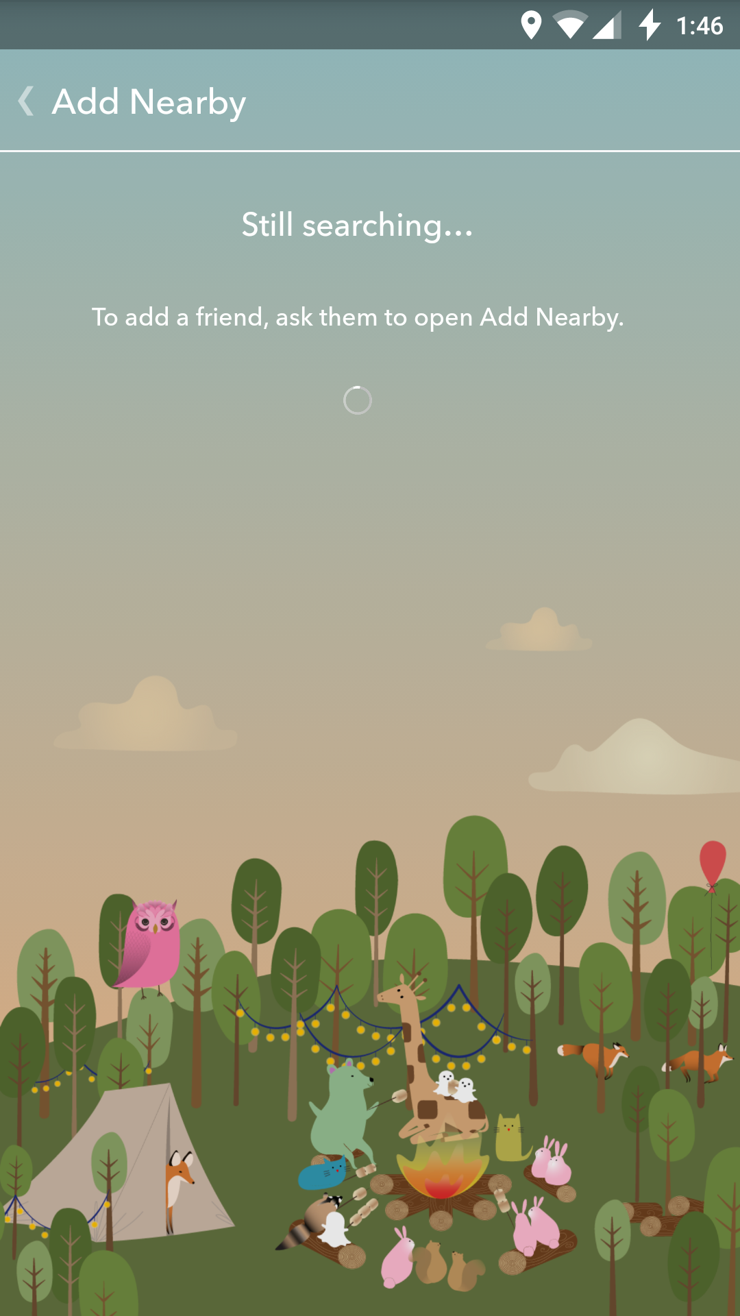 Using The Add Nearby Feature Is The Easiest Method Of Adding Friends,  There's Just One