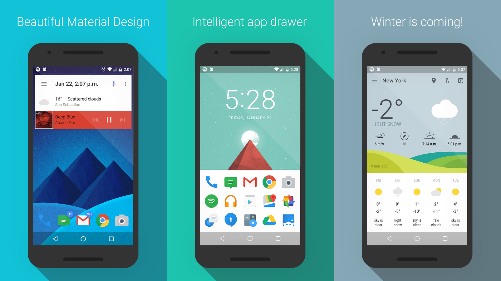 Download This: ASAP Launcher is a fast and material