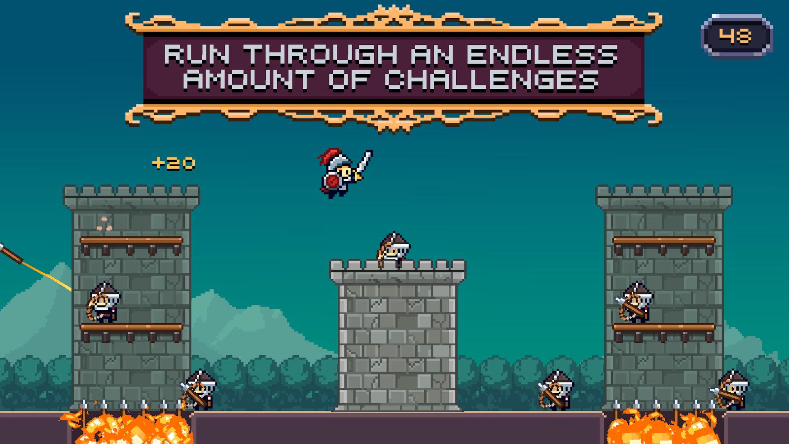 Fun addicting game apps - Dashy Knight