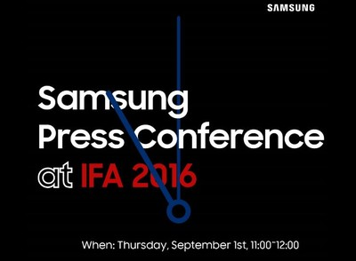 samsung ifa event invite