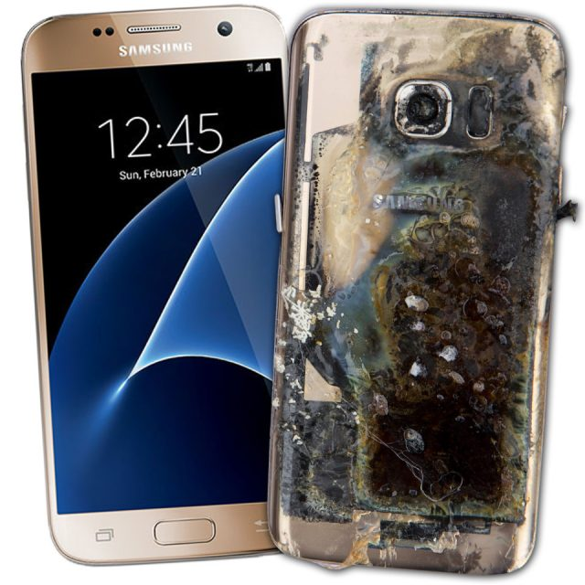 Samsung Galaxy 7 Explosion - What to Do