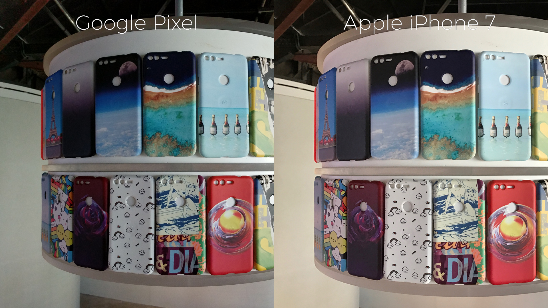 Google Pixel vs. iPhone 7: camera comparison [PHOTOS]