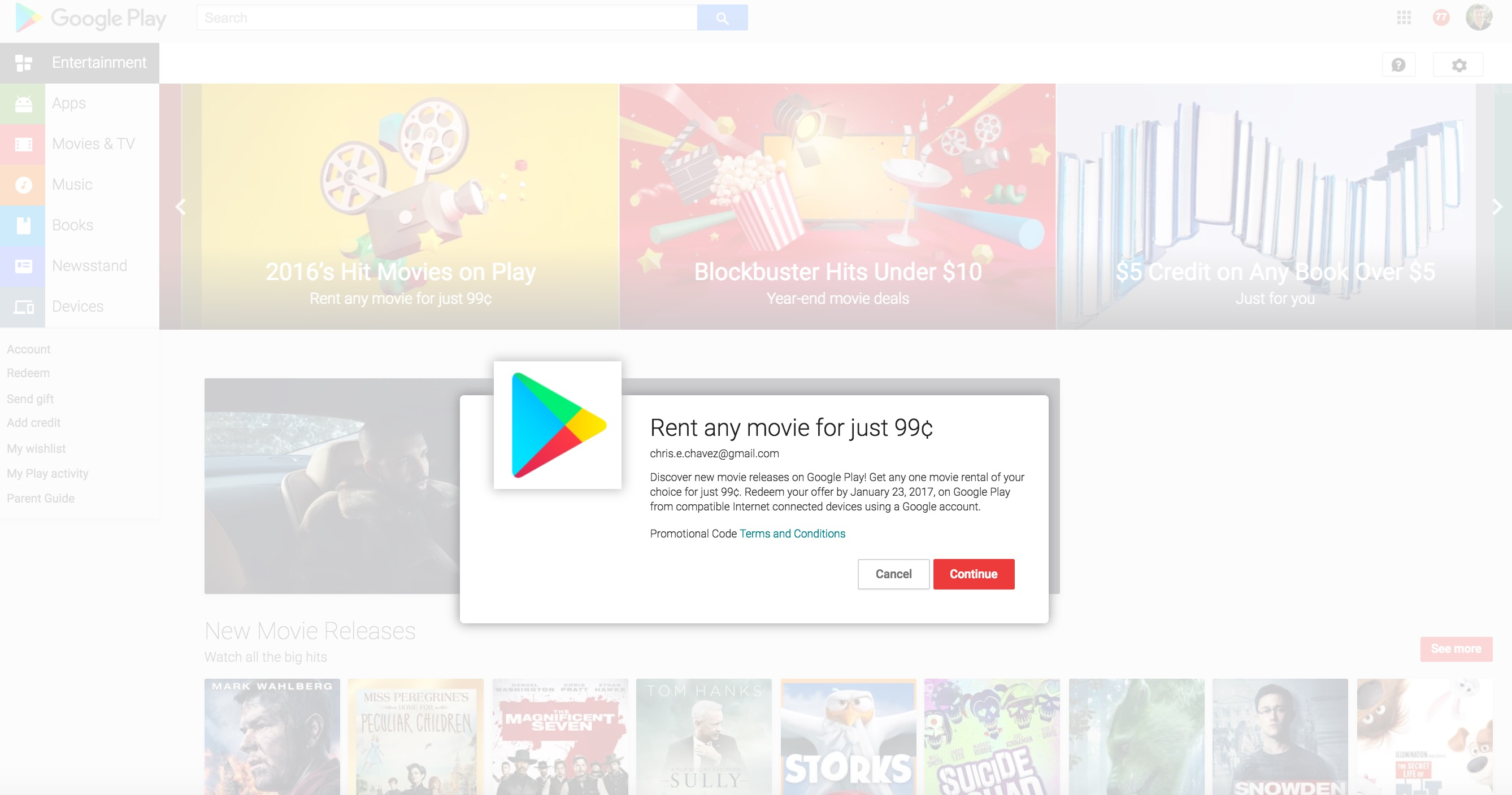Coupon code for youtube movie rental
