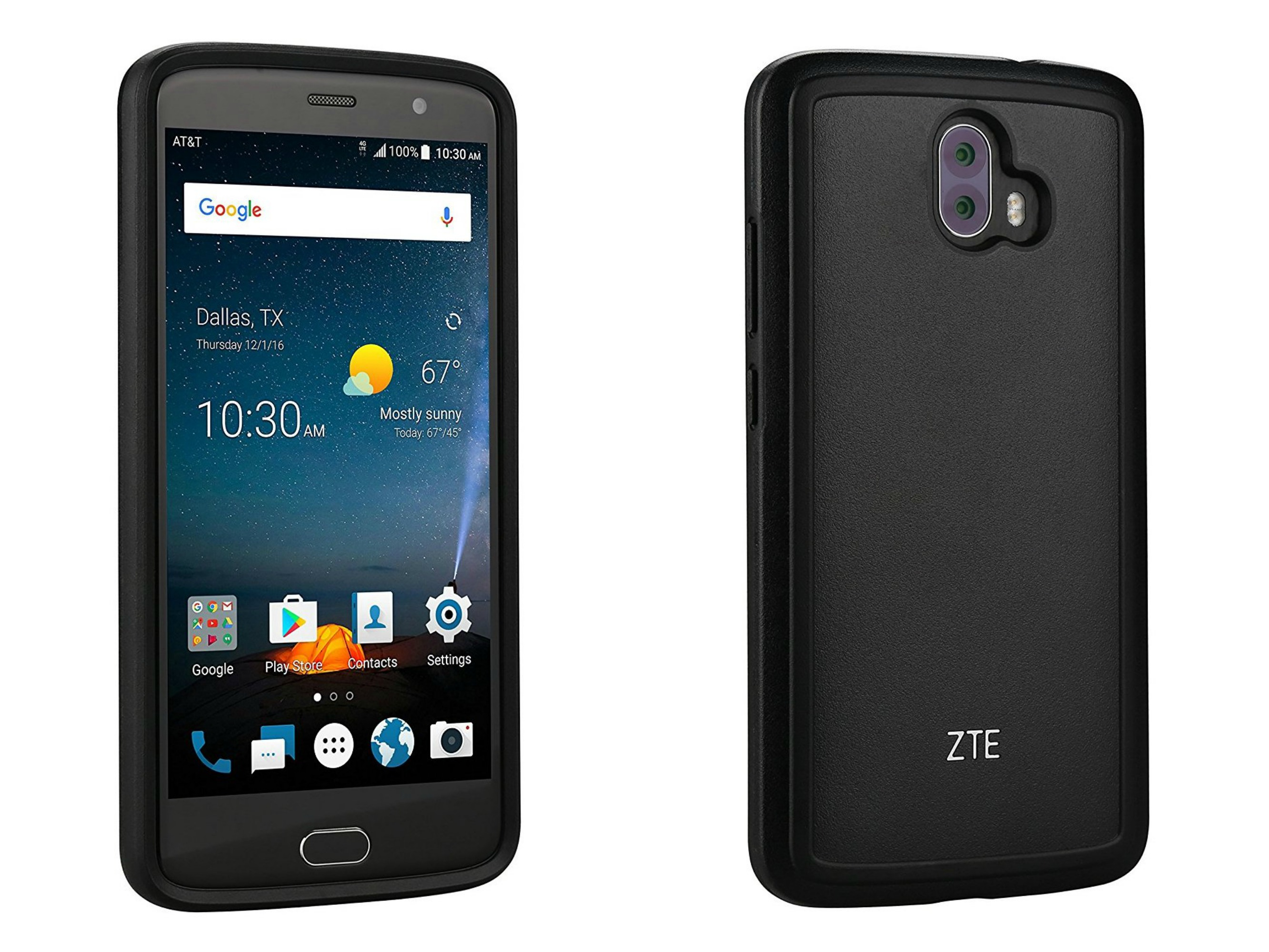 tracked zte v8 blade pro case been