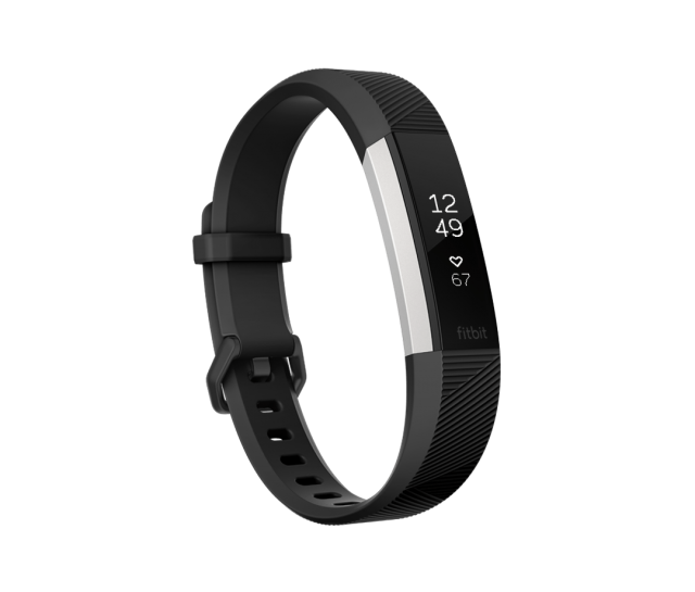 The Fitbit Alta HR is the slimmest wearable with ...