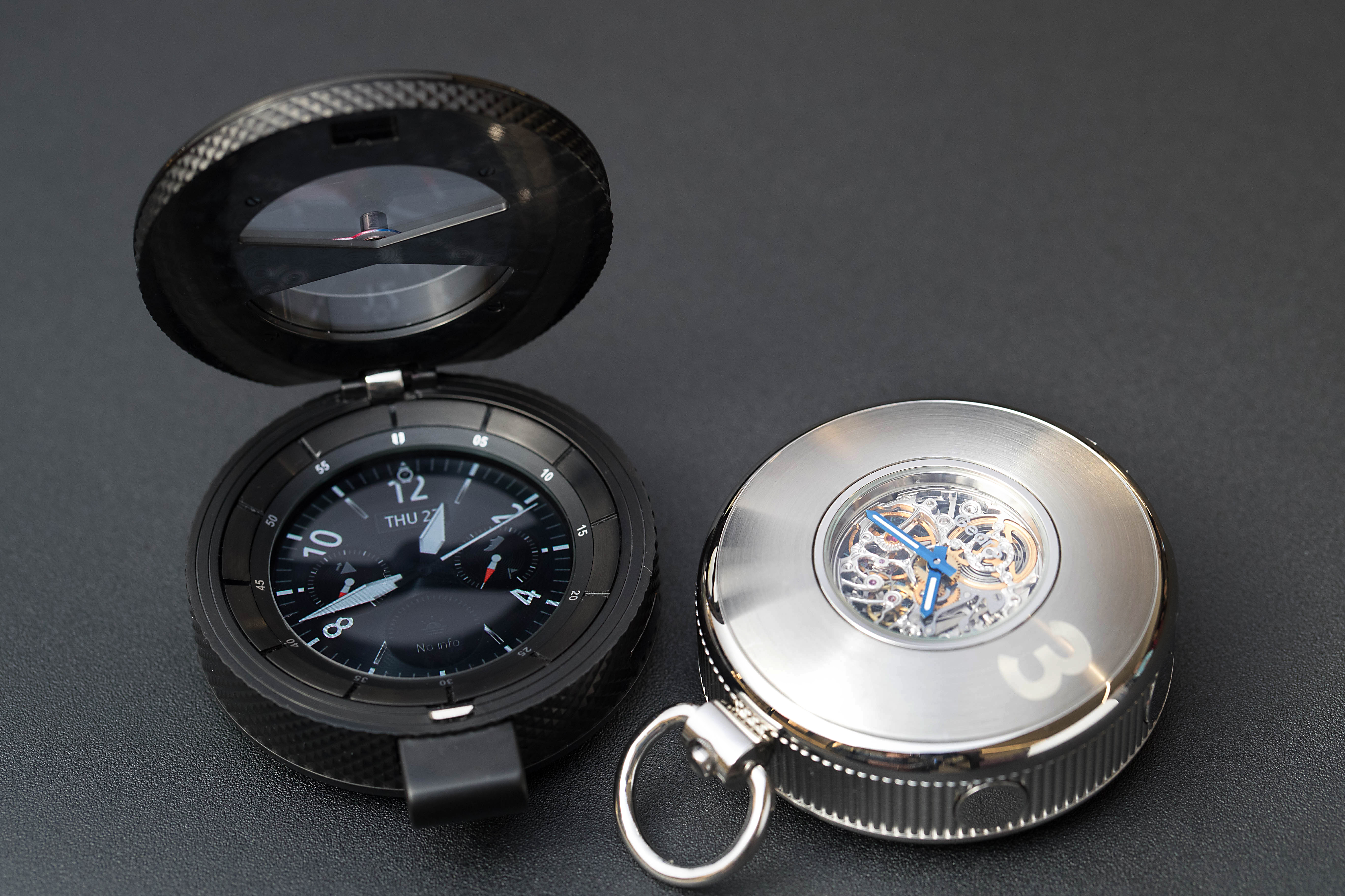 Samsung shows off Gear S3 pocket watch concept