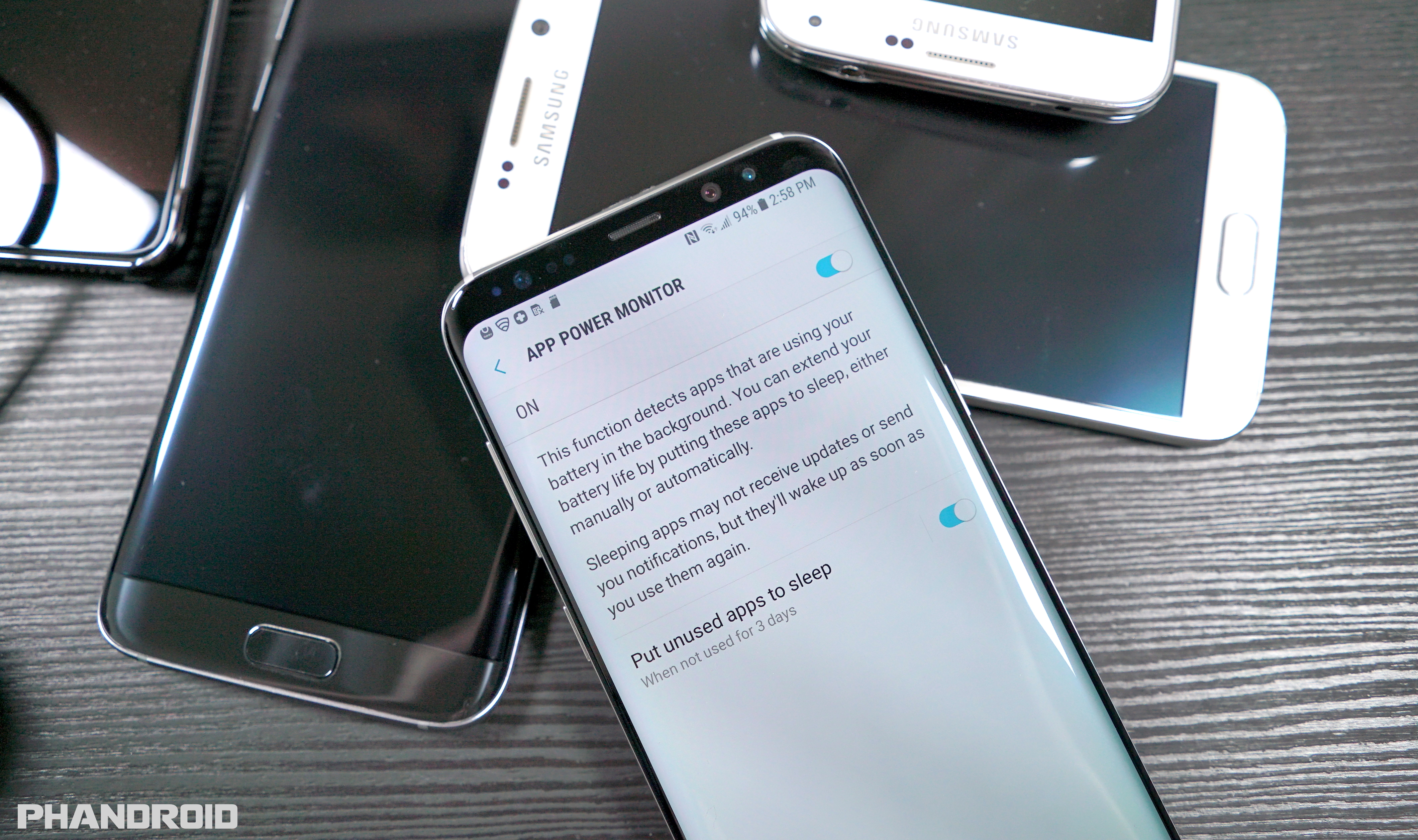 how to stop add on samsung s8