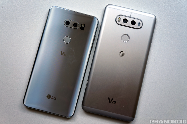 Lg V30 Vs V20 What S New