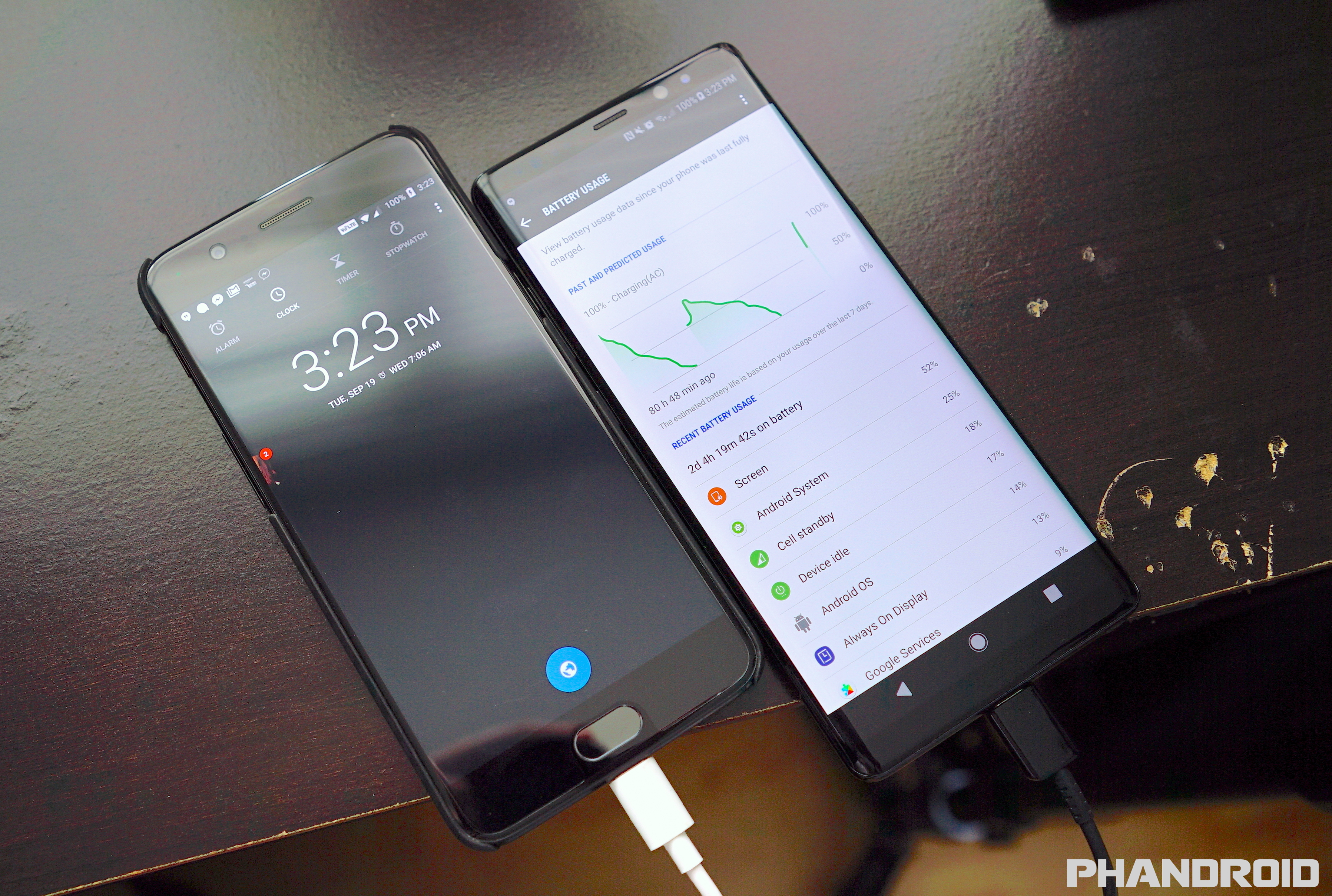 Galaxy Note 8 Battery 0 To 100 In 6 420 Seconds