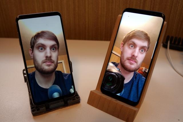 Face Unlock: Samsung Galaxy S8 vs LG V30 [VIDEO]
