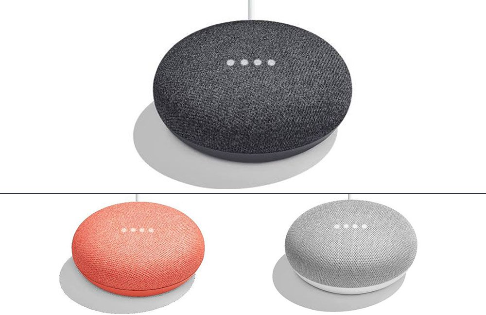 The Google Home \