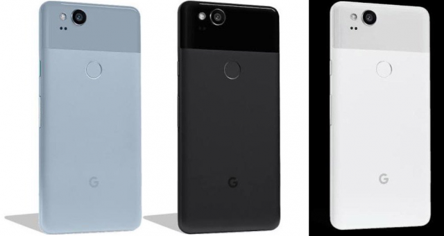 First look at the Pixel 2 in all three available colors