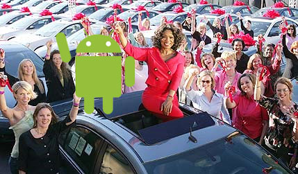 google-android-oprah